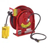 ELECTRIC CORD REEL-DOUBLE RECEPTACLE