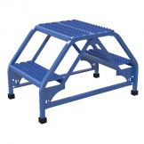 DOUBLE SIDED LADDER 2 STEP 19.3125W GRIP
